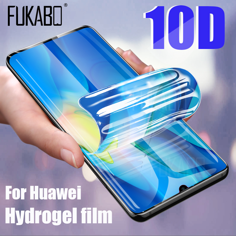 Screen-Protector Mate Soft-Film P20 Lite 10D Huawei P30 for Pro-P 10-Pro