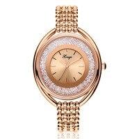 Xinge New Brand Luxury Zircon Wrist Watch Women Dress Watches Lady Bracelet Top Quality Quartz Watches
