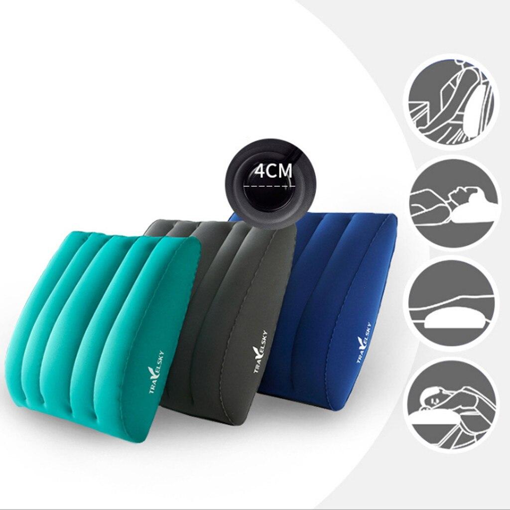 Inflatable Lumbar Support Travel Sleep Cushion Back Pain