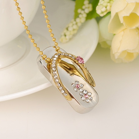 Buy 2 0 necklace pen drive 32gb pendrive for Jh jewelry guarantee 2 years