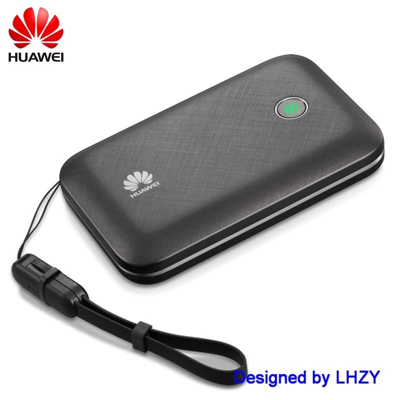 Unlocked Huawei E5771 E5771h-937 9600mAh Power Bank 4G LTE MIFI Modem WiFi Router Mobile hotspot PK e5377 e5577 e5786 цена