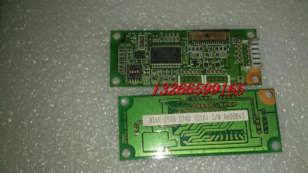 [SA] N16B-0558-0740 (02A) N320-0558-T740/01 Fujitsu 7 line controller --3pcs/lot [sa] fujitsu 7 line touch screen controller n16b 0558 0280 02a w202367 s n 3pcs lot