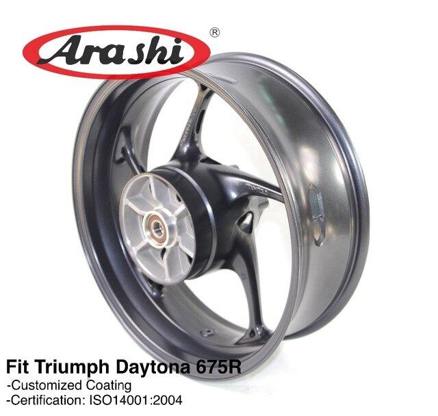 Arashi Newest 675r Rear Wheel Rim For Triumph Daytona 675 R 2013