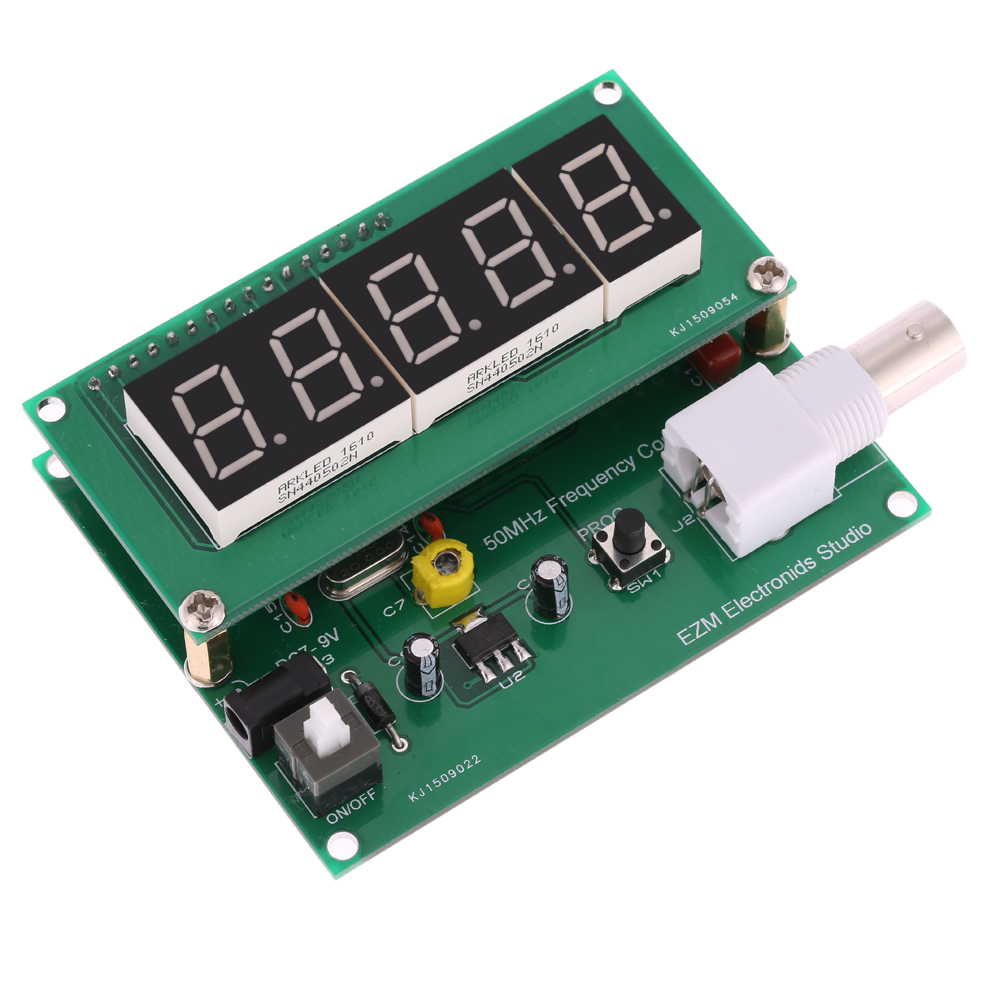 1Hz-50MHz cymometer Frequency Meter Counter High Sensitivity frequency counter Measurement Tester Module 7V-9V 50mA pop relax negative ion magnetic therapy tourmaline mat pr c06a 55x120cm ce page 9