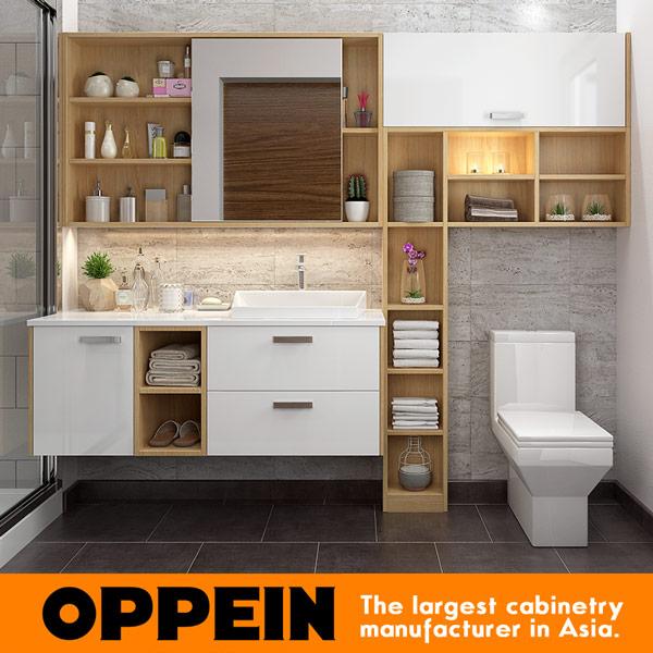 moderne badezimmermobel holz, oppein & moderne wand holz badezimmer eitelkeit badezimmer möbel set, Design ideen