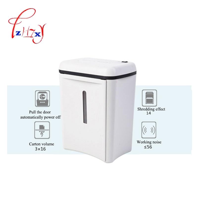 SD9280 Electric Paper shredders 14L capacity Mute file