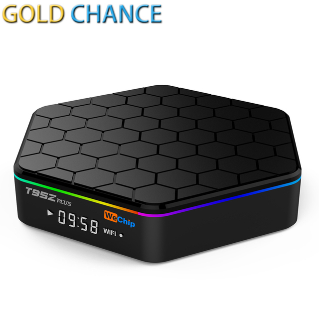WeChip S912 T95Z Plus Amlogic Cuadro de TV Android Octa core ARM Cortex-A53 2G/16G Android 6.0 TV Box WiFi BT4.0 2.4G/5.8G H.265 4 K