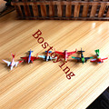 6 unids/set pixar aviones dusty 2 ishani capitán Ripslinger avión avión modelo regalos doll juguetes clásicos para niños W121