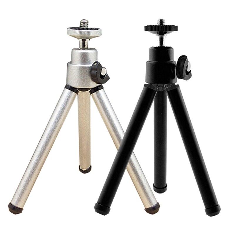 1 Pc Tragbare Metall Mini Licht Tisch Top Stand Stativ Grip Stabilisator Für Kameras GüNstigster Preis Von Unserer Website