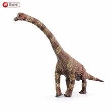 Wiben Jurassic Brachiosaurus Dinosaur Toys Action Figure Animal Model Collection High Simulation Birthday Gift For Kids