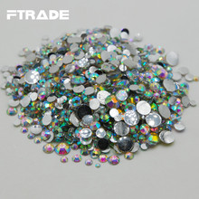 Buy flat back acrylic rhinestones clear and get free shipping on ... 1fbde8416353