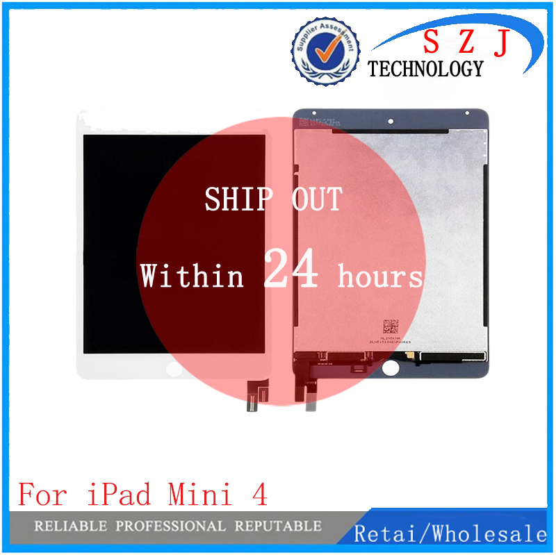 New tablet pc For ipad mini 4 Lcd Screen For ipad mini4 A1538 A1550 lcd display + touch screen assembly Free Shipping original and new 8inch lcd screen claa080wq065 xg for tablet pc free shipping