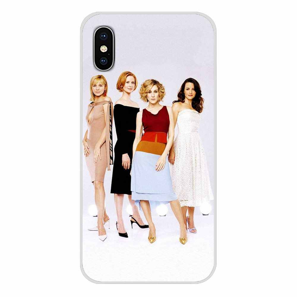 Accessories Phone Cases Covers sex and the city poster For Samsung A10 A30 A40 A50 A60 A70 Galaxy S2 Note 2 3 Grand Core Prime
