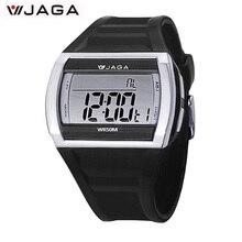 2016 Hommes sport montres Mouvement Multifonction Électronique Montre 100 Mètres Étanche montres Diver montre de sport M879