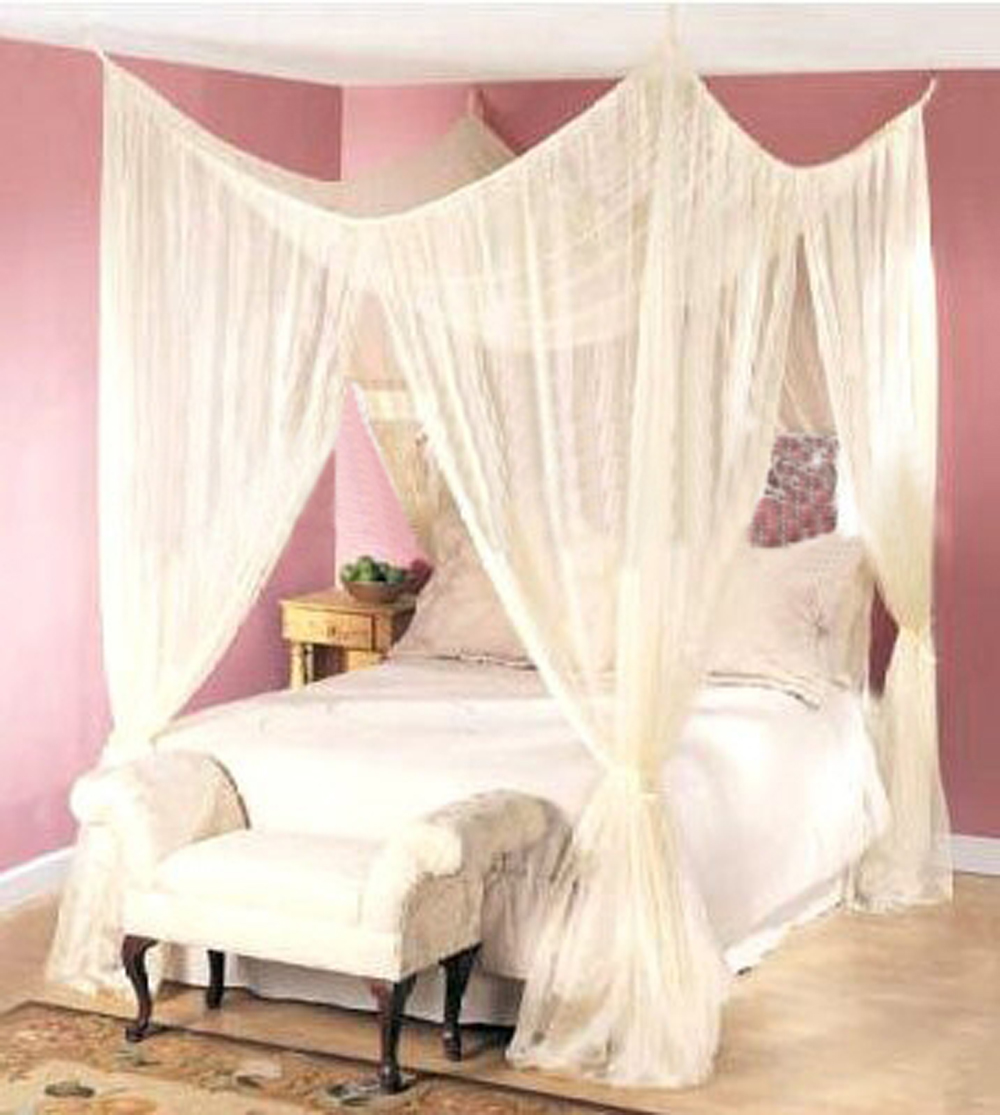 4 Post Bed Curtains online get cheap queen canopy bed curtains -aliexpress