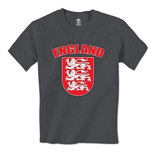 Человек майка Англия Королевский Лев Щит Герба Английский Гордость Мужская Футболка