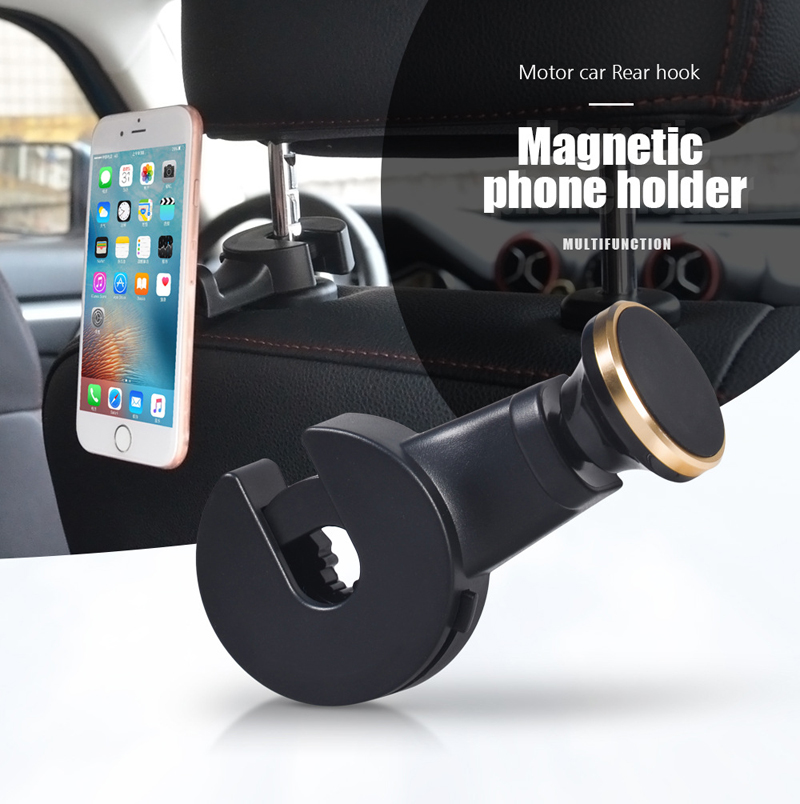 Car Seat Headrest Mounts Magnetic Mobile Phone Holders Stands For Huawei Mate 10 Lite,Nova 2i,Honor 9i/7X,Maimang 6,Mate 10 Pro