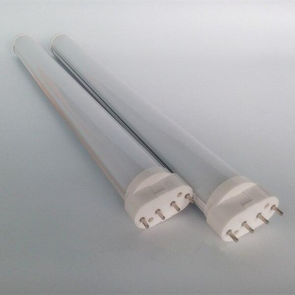 brightness 2g11 led tube light 320mm 12w milky /transparent cover PL SMD2835 AC85-265V