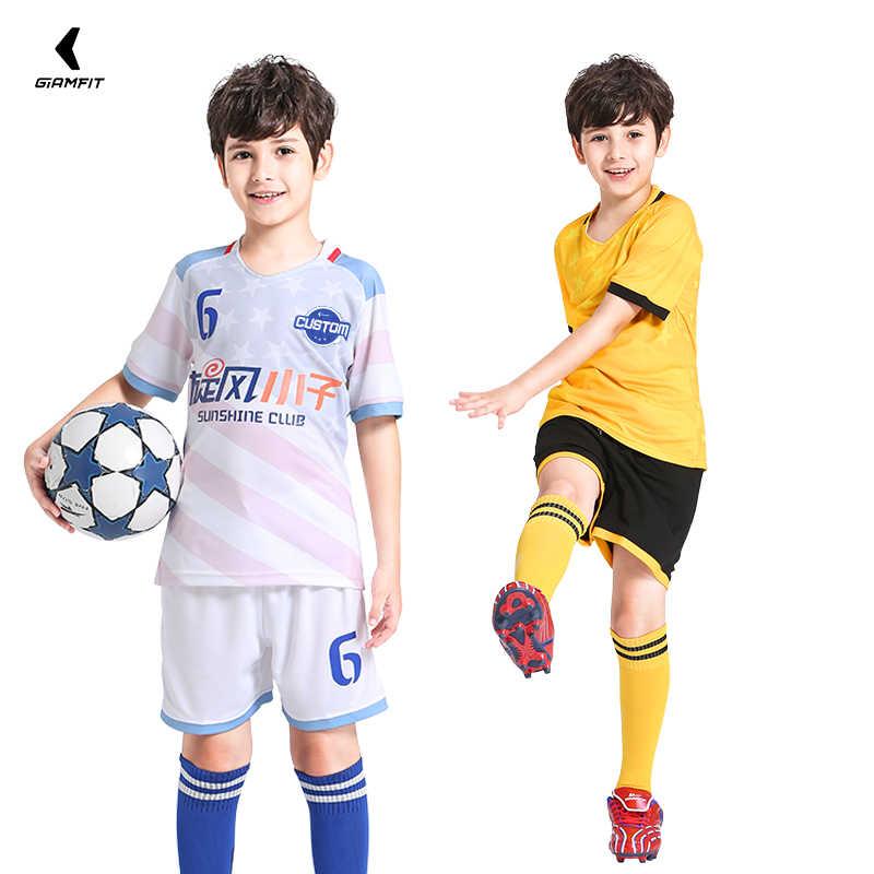 9f381ea9d9 Kids Soccer Jerseys 2019 France Jersey Soccer Football Jersey Custom ...