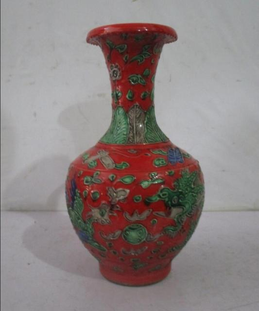 Aliexpress Buy Rare Chinese Ming Dynasty Red Ceramic Vases