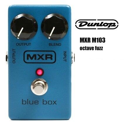 Dunlop MXR M103 Blue Box Octave 2-octave Down Fuzz Guitar Pedal boegli m 103