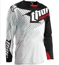 Thor velocidade para baixo FOX Camisa de corrida de moto cross country TLD secagem rápida longas mangas compridas andar de bicicleta terno