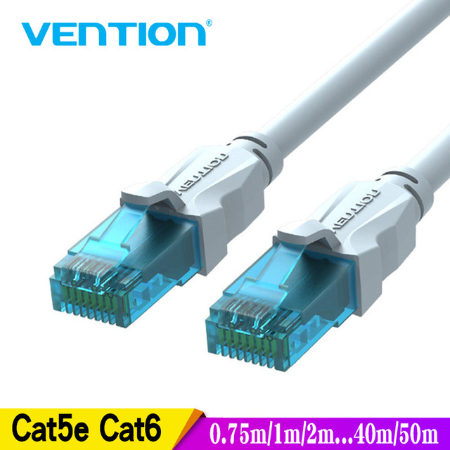 Vention кабель Ethernet Cat5e LAN Cable utp CAT 6 RJ 45 сетевой кабель 10 m/20 m/40 м патч-корд для ноутбука маршрутизатора RJ45 сетевой кабель