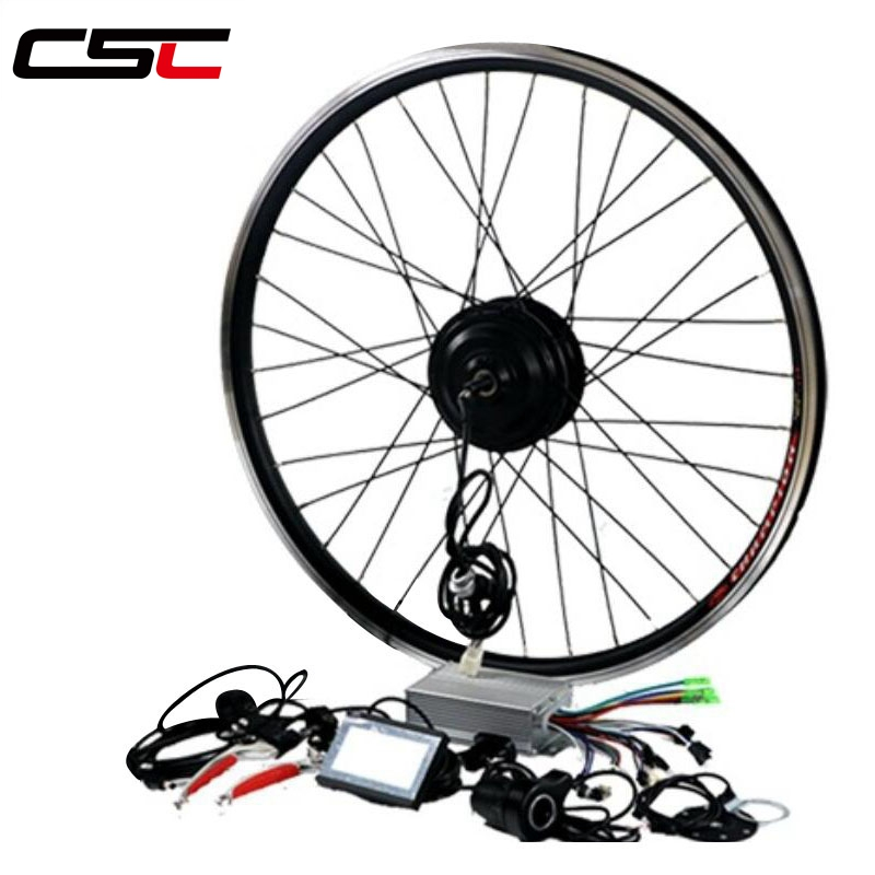 цена на E BIKE 36V 250W 350W 500W Motor Wheel Electric Bike Kit Electric Bicycle Conversion Kit for 20-29in 700C Rear Wheel Motor