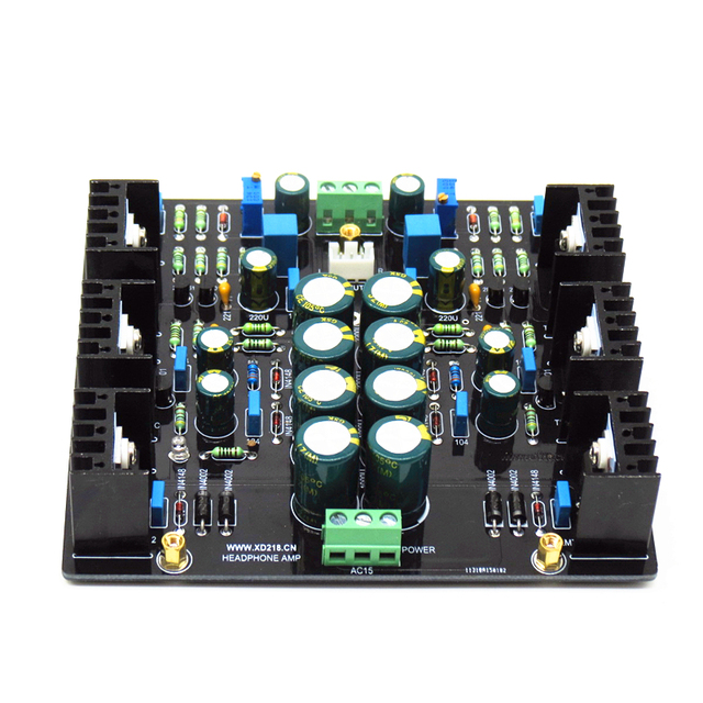 XD JLH Dual Channel Single Ended 1969 Class A AMP HiFi Preamplifier Board