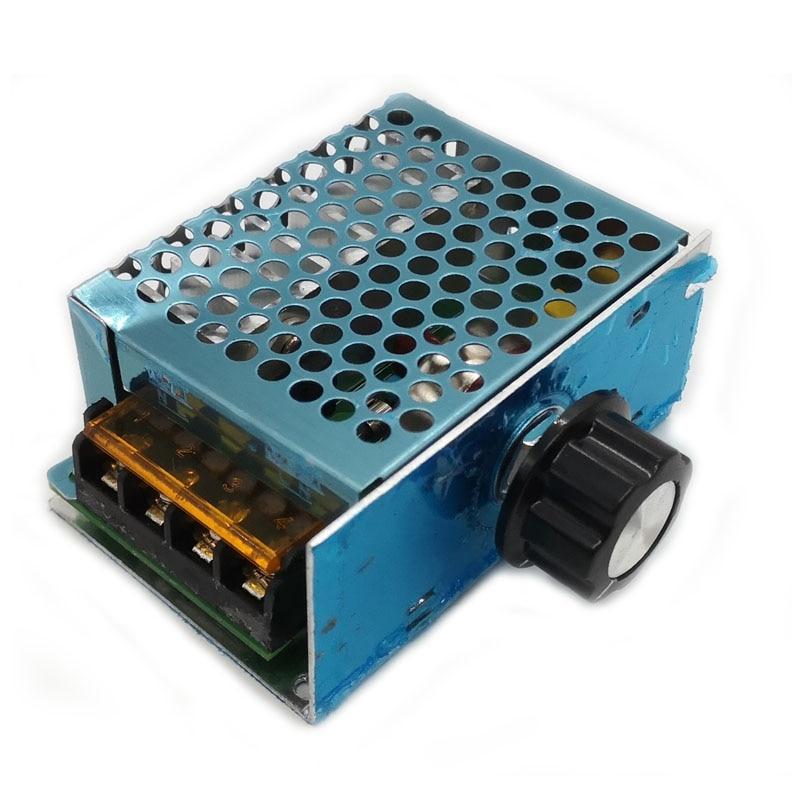 AC 220V 4000W High Power Voltage Regulator SCR Electronic Regulator Speed Contro