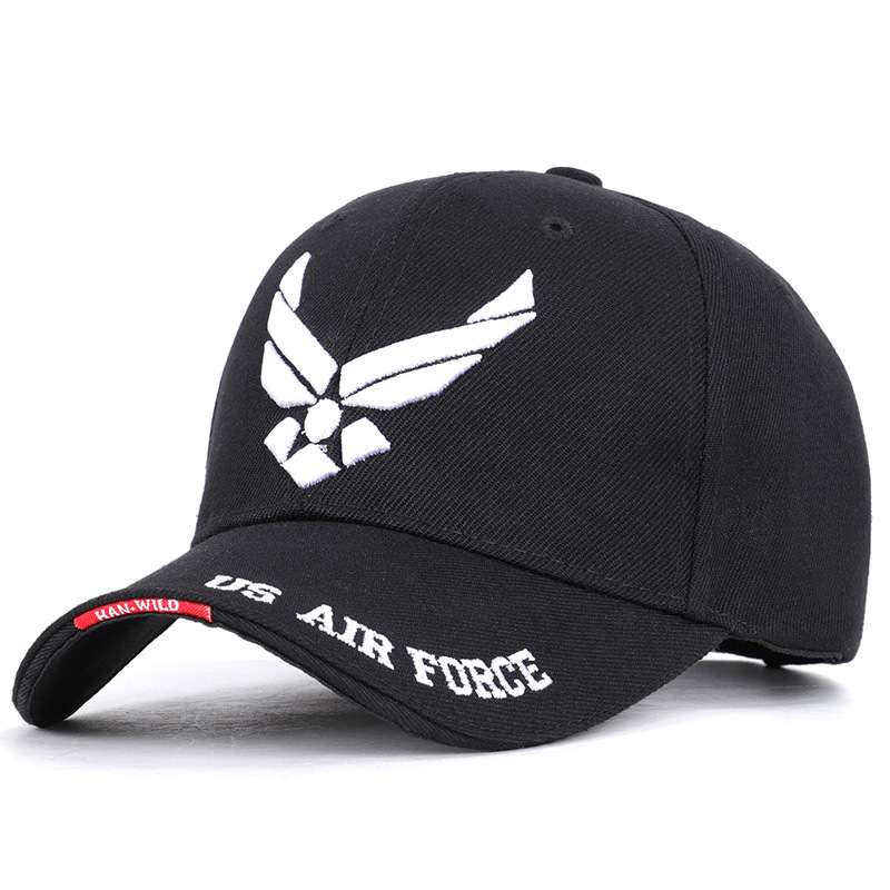 Hot Selling Men Tactical   Cap   US Air Force Unisex Adjustable Street Hiphop   Baseball     Cap   Fitted Sunscreen Hats