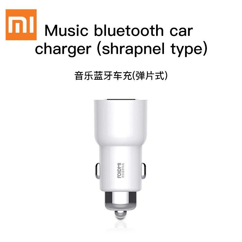 Xiaomi ROIDMI 3S 5V 3.4A Carregador de Carro Do Bluetooth Music Player FM Smart APP para iPhone e Android Inteligente controle MP3 Jogador