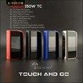 Оригинал Teslacigs СЕНСОРНЫЙ 150 ТС Мод Тесла 150 Вт Сенсорный Коробка Моды Пара Электронных Сигарет