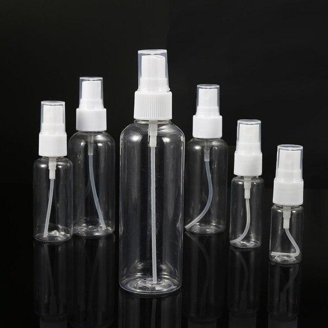 4dfe7defcf7b US $1.6 20% OFF 5pcs/set Clear Plastic Perfume Atomizer Empty Spray Bottle  Mini Travel Portable Refillable Bottles 10/20/30/50/60/100ml-in Refillable  ...