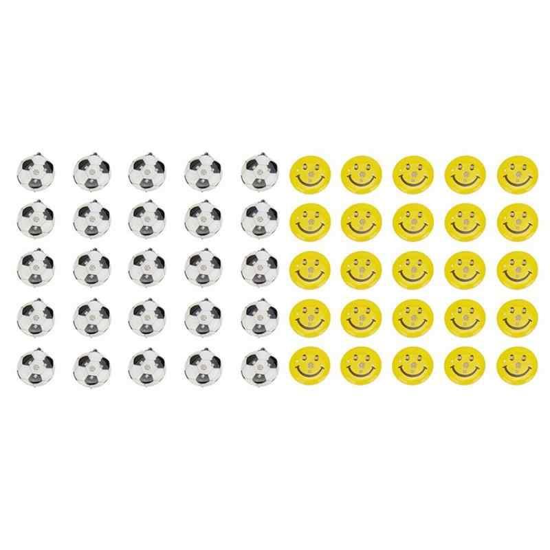 25 шт./пакет милые Мультяшные Броши с символикой Флэша булавки светящиеся бутоньерка ювелирные изделия