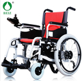 Fashion  electric power portable red Folding  wheelchairs for disabled and elderly people NEW
