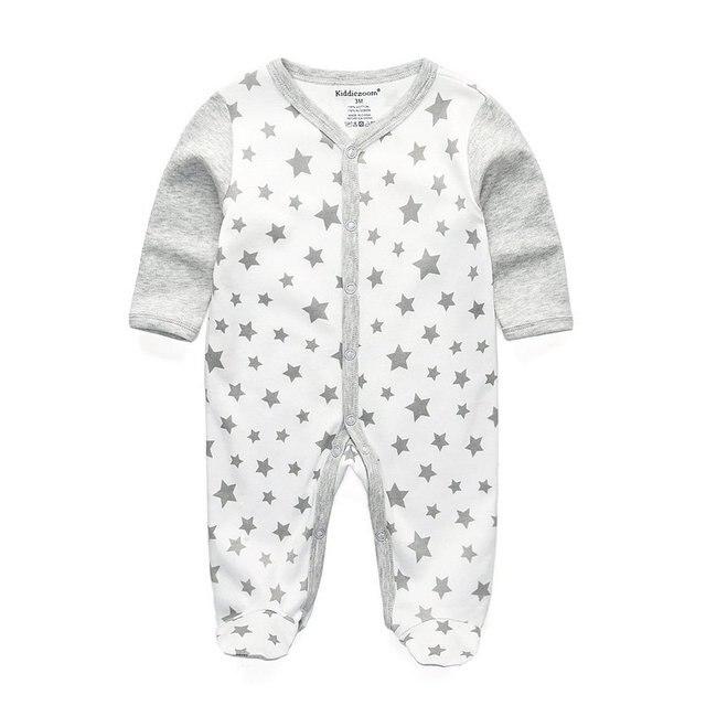 Stars Baby Gray 1104