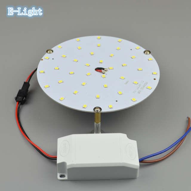 Energy Board Circle Pcb Kitchen Solar Bedroom Ceiling Round driver Magnetic Panel 220v Kit 12v 24v Lamp 9w Light Led 110v lcFK1TJ