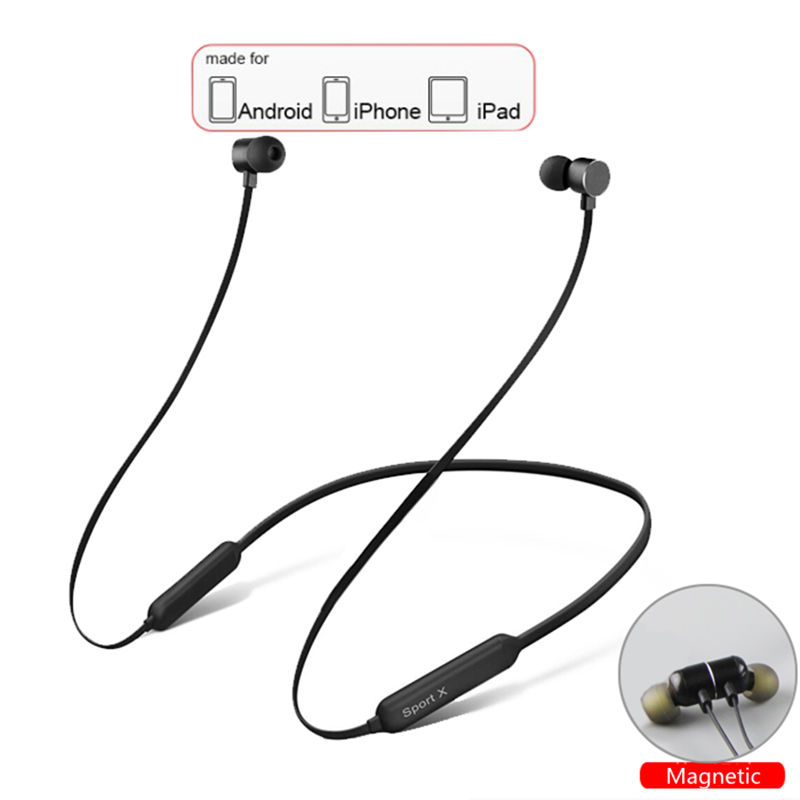 Bluetooth Earphone Waterproof IPX5 With 5 Hours Battery Life Sport Wireless Earphones Bluetooth for Xiaomi iPhone Android