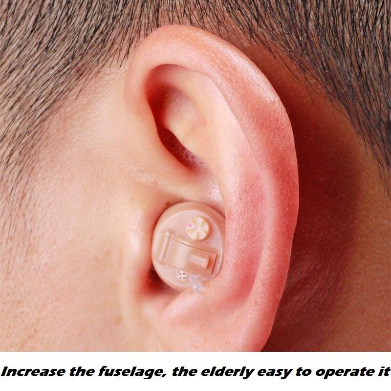 AcoSound date S210 CIC aide auditive numérique pour les personnes âgées Mini prothèses auditives petits amplificateurs sonores invisibles dispositif auditif