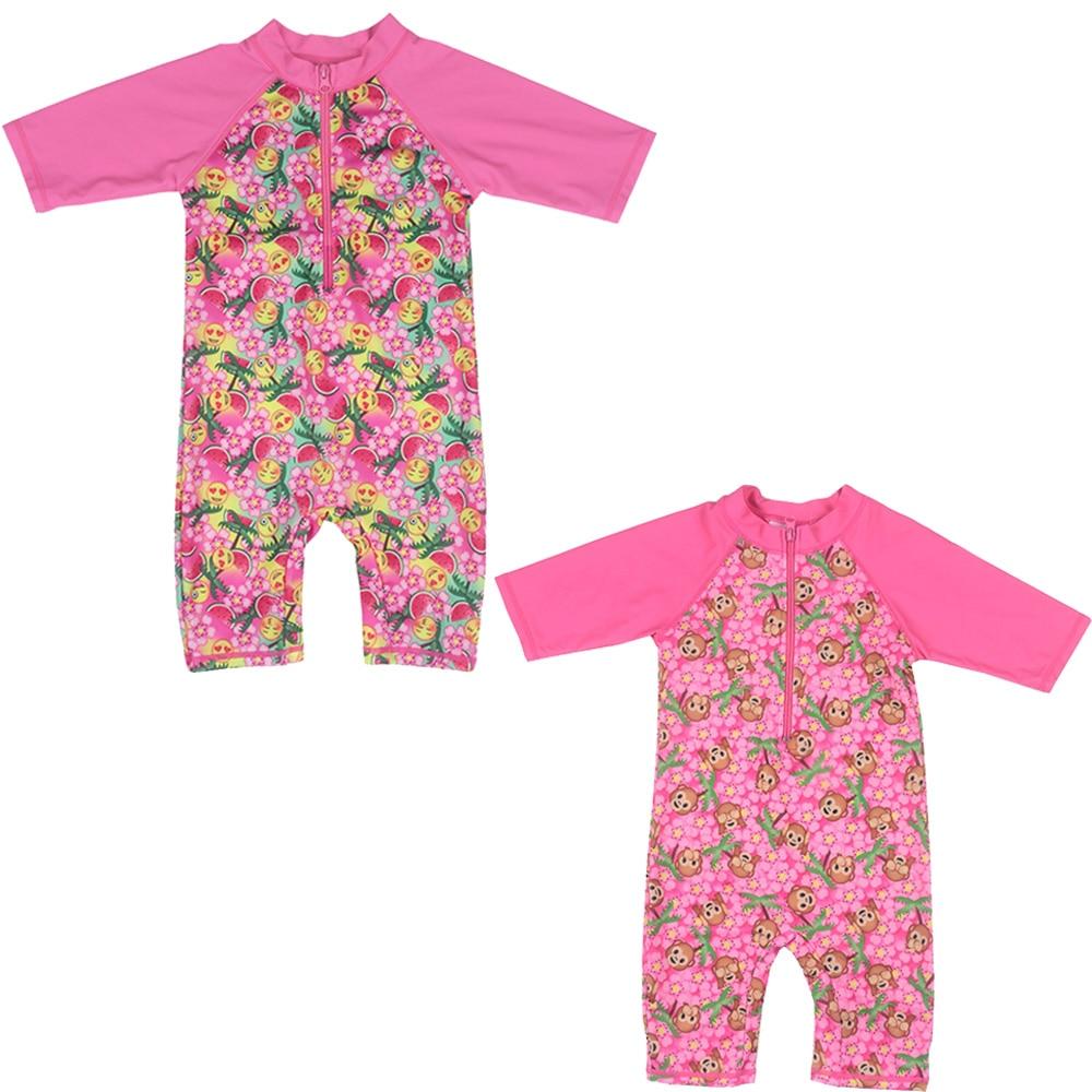 2016 Nieuwste Meisjes UV-bescherming Badpak Badpak Badmode (UPF50 +) - Sportkleding en accessoires