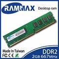Новый запечатанный LO-DIMM 667 МГц Оперативной Памяти Настольного 2 ГБ DDR2 PC2-5300 240-pin/CL5/1.8 В совместимость с все ПК Компьютерные материнские платы