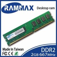 New sealed LO-DIMM 667 Mhz De Bureau Mémoire Ram 2 GB DDR2 PC2-5300 240-pin/CL5/1.8 v compatibilité avec tous les PC cartes mères D'ordinateur