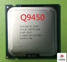 Процессор lntel Core 2 Quad Q9450 (2,66 ГГц/12 МБ/1333 ГГц), разъем 775, процессор для настольного компьютера (100% рабочий, бесплатная доставка)