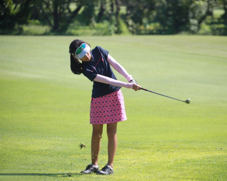 PGM Golf Футболка детская одежда Летний солнцезащитный спортивный костюм с длинными рукавами для девочек