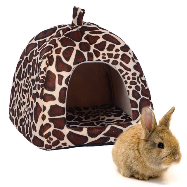 Cute Small Animal Rabbit Guinea Pig Hamster house winter warm squirrel hedgehog chinchilla House cage Nest Hamster accessories