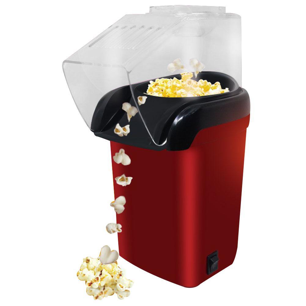 Adoolla Mini Electric Corn Popcorn Maker Household Automatic DIY Popcorn Machine DIY Popper Machine US Plug popcorn popper machine household popcorn maker retro style corn popper 2 5oz rocking type kettle