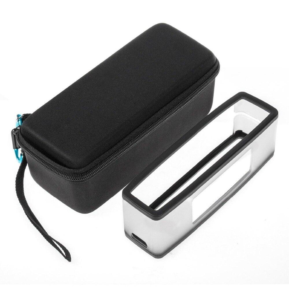 bilder für EVA Reise Carry Lagerung Fall Abdeckung Box + Weiche Silikon TPU Fall-abdeckung Für Bose Soundlink Mini/Mini 2 drahtlose Bluetooth Lautsprecher