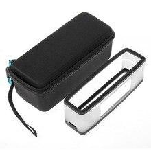 EVA Travel Carry Storage Case Cover Box +Soft Silicone TPU Case Cover For Bose Soundlink Mini/Mini 2 Wireless Bluetooth Speaker