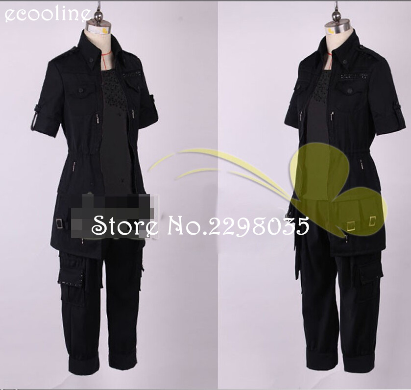Game Anime Final Fantasy XV Noctis Suit Party Fashion Uniforms Cosplay Party Noctis Costume Hallwomas Custom-made Any Size NEW